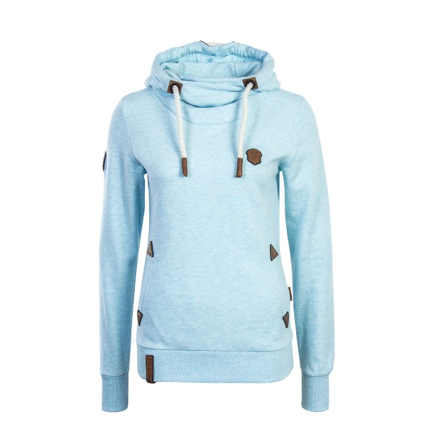 Naketano Wmn Hoody Chasin The Cat Blue