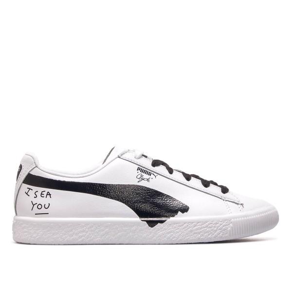 Puma Wmn Clyde SM White Black