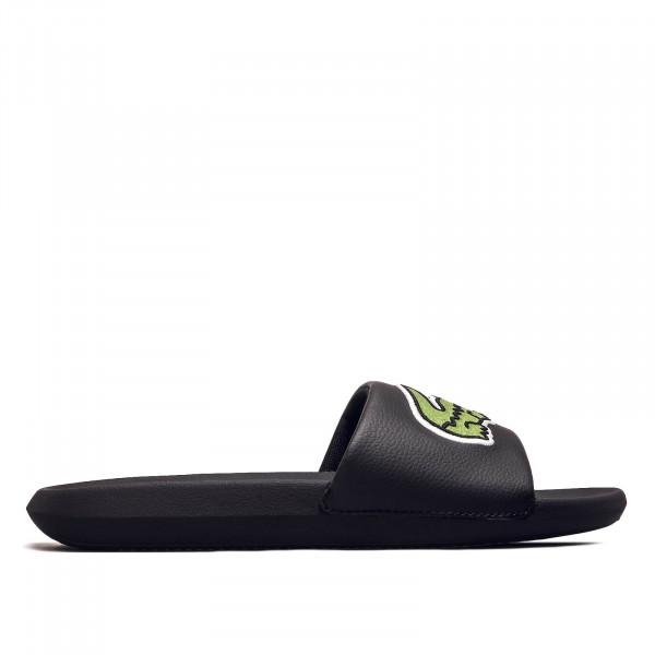 Herren Slide Croco 319 Black Green