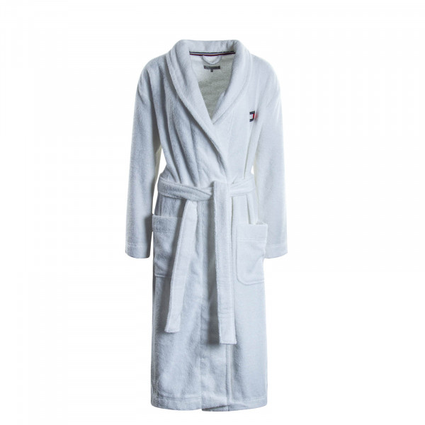 Damen Bademantel Robe 2325 White