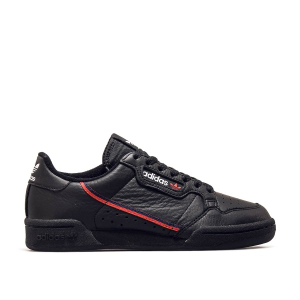 Adidas U Continental 80 Black Red Navy