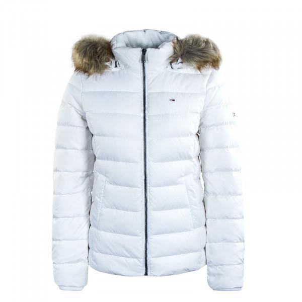Damen Jacke Basic Hooded 8588 White