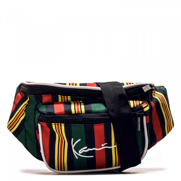 Hip Bag Signature Stripe Green Red