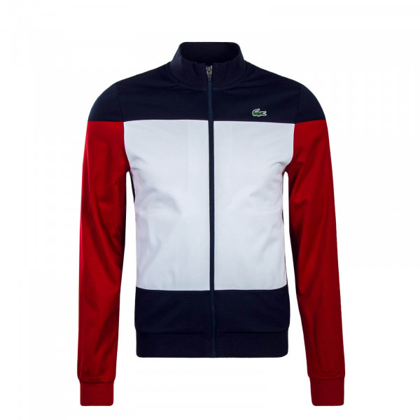 Lacoste Trainingsjkt SH3550 Wht Nvy Red