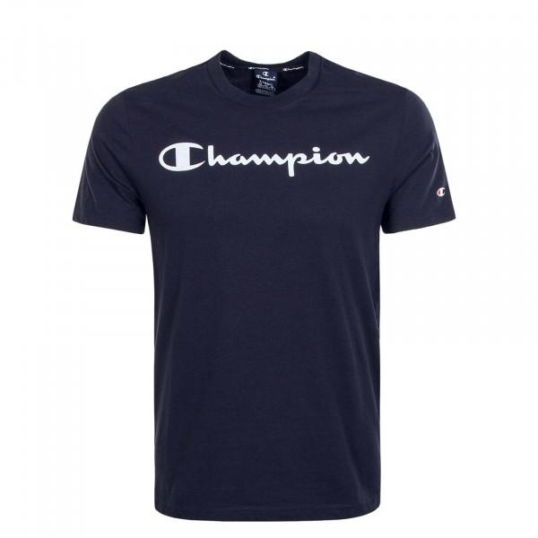 Herren T-Shirt 4142 Navy White