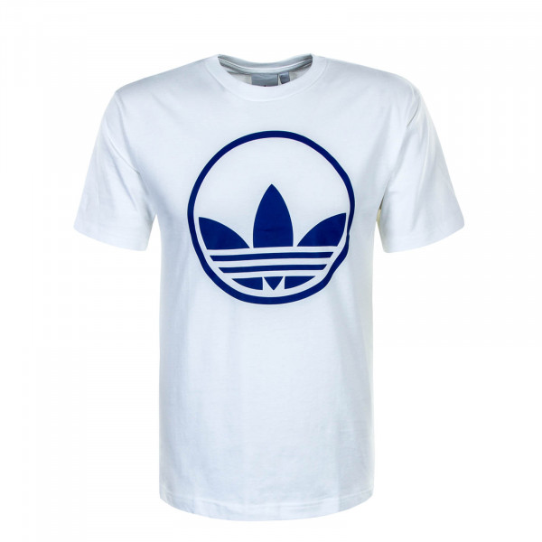 Herren T-Shirt Circle Trefoil White Blue