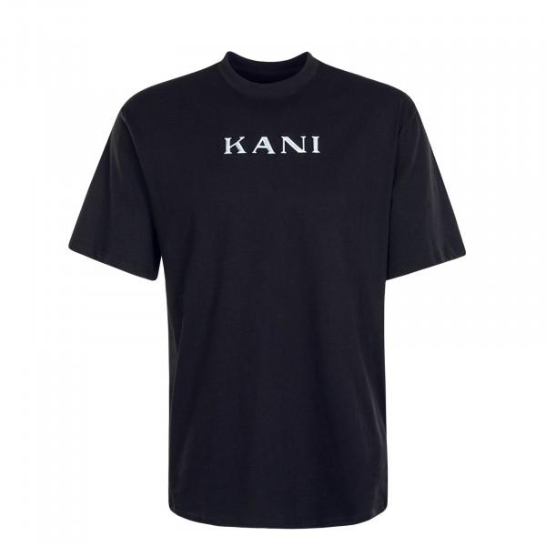 Herren T-Shirt Retro Black
