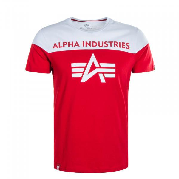Herren T-Shirt  CB T 506 Speed Red White