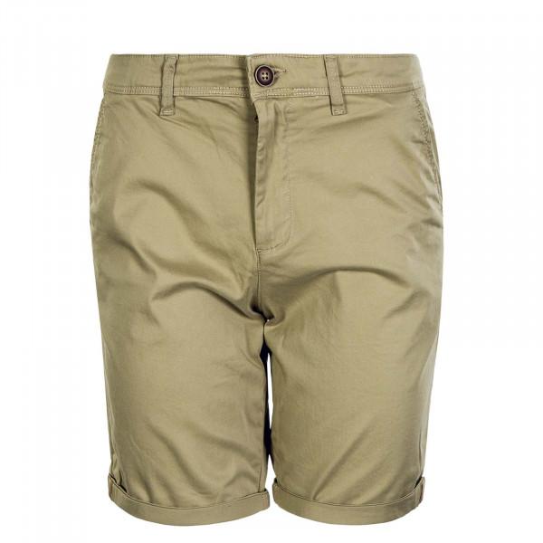 Herren Shorts Bowie JJ Solid Khaki