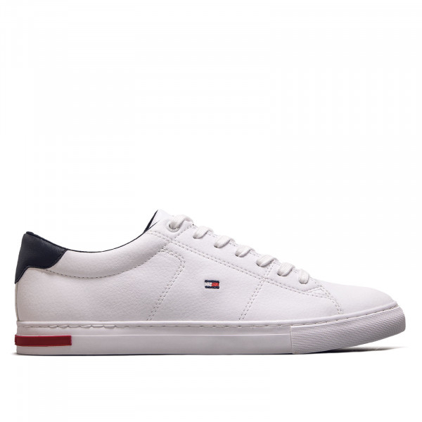 Herren Sneaker Essential Leather Detail Vulc White