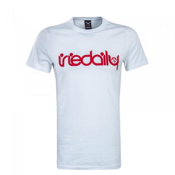 Herren T-Shirt No Matter 4 White Red