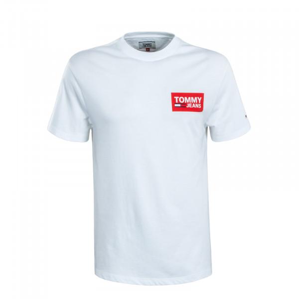 Herren T-Shirt  6671 Back Multi White