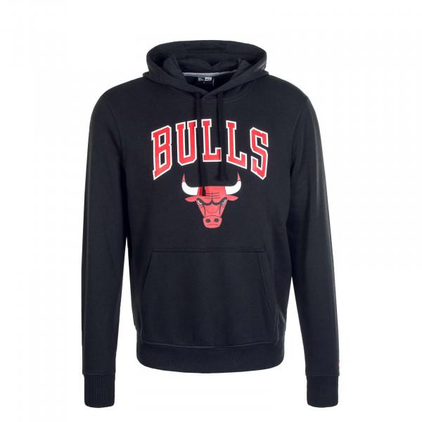 Herren Hoody Team Logo PO Chicago Bulls Black