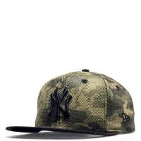 New Era Cap 9Fifty NY Camouflage Green