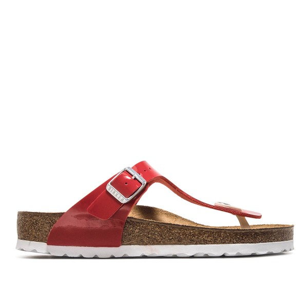 Birkenstock Wmn Gizeh BF Lack Tango Red