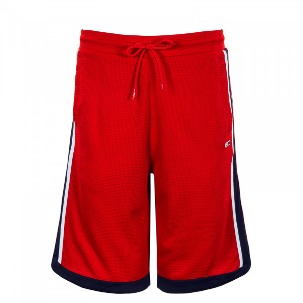 Herren Shorts - Mesh Basketball Short - Deep Crimson