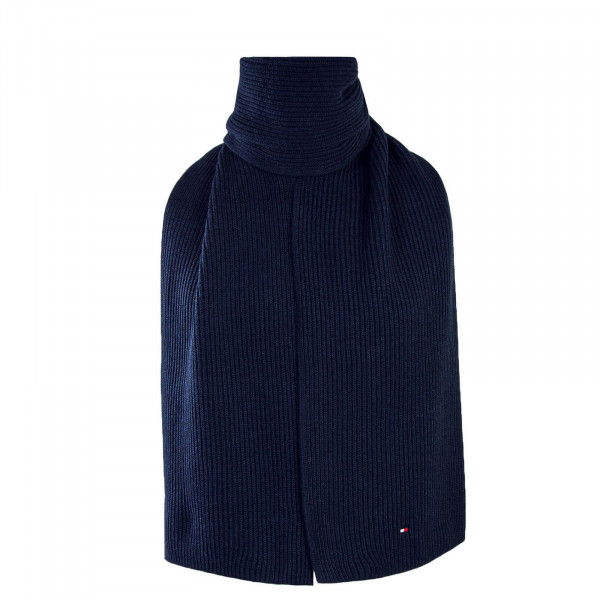 Tommy Scarf Pima Cotton Cashmere Navy
