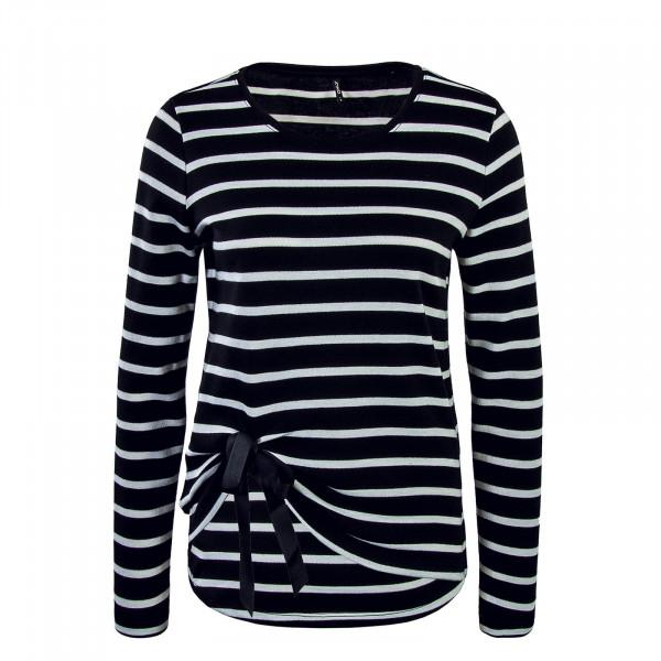 Only Anna Knt. Black Stripe