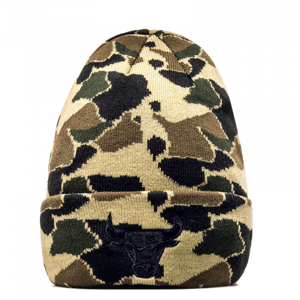 New Era Beanie Cuff ChiBul Camo Green