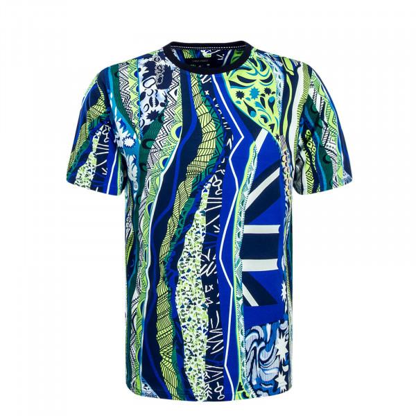 Herren T-Shirt C3711 Green Blue White