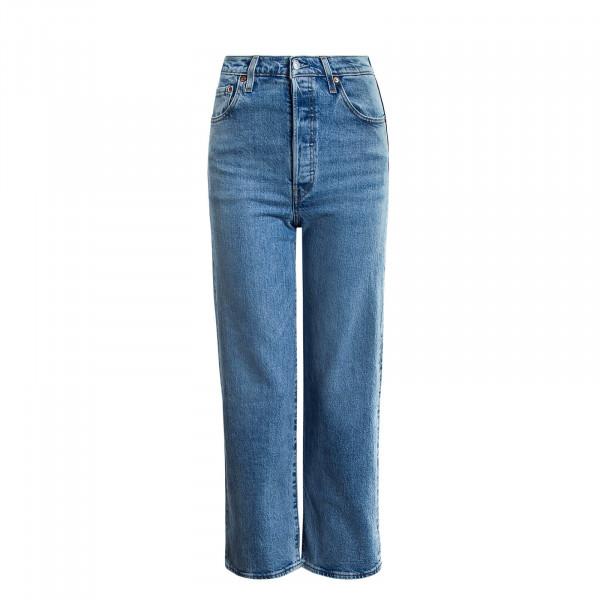 Damen Jeans 72693 Ribcage Ankle Light Blue