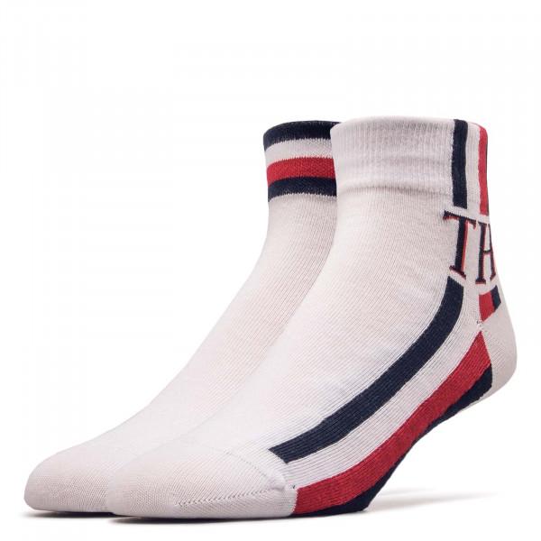 2er-Pack Socken Quarter Iconic White