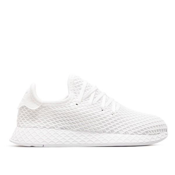 Adidas Wmn Deerupt Runner J White White
