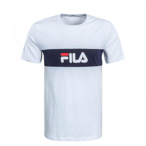 Herren T-Shirt Nolan White Navy