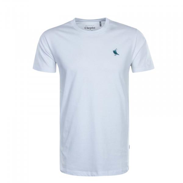 Herren T-Shirt Gull Rider White