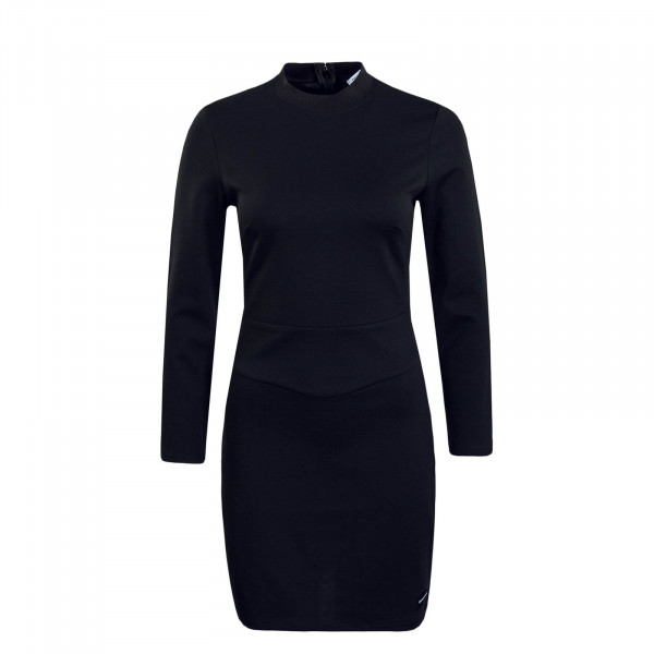 Damen Kleid Fitted Milano Black