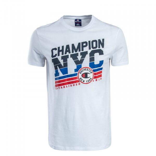 Herren T-Shirt 210764 White Black