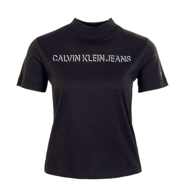 Damen T-Shirt - Shadow Logo 6817 - Black