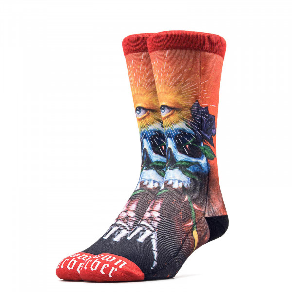 Stance Socks Anthem Shawn Barber Red