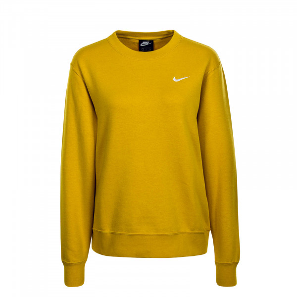Damen Sweatshirt Crew FLC Trend Yellow