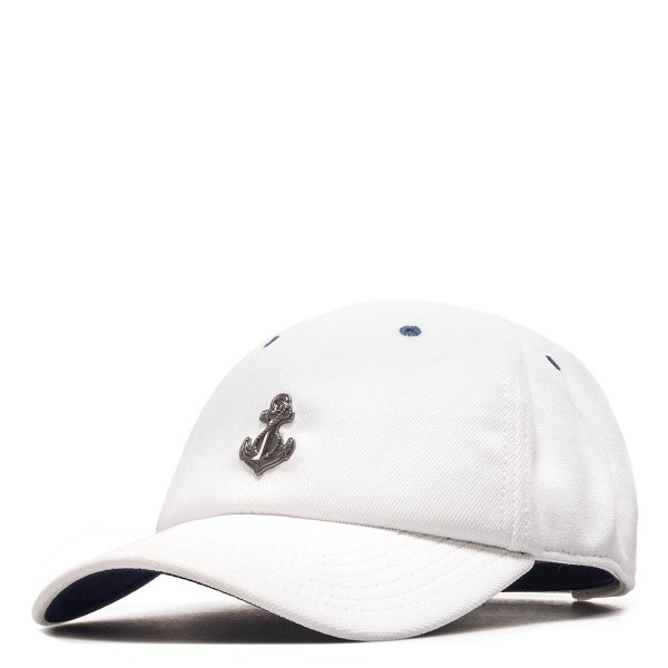 Cap - Curved Stay Down - White