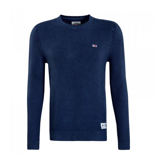 Herren Knit Sweat Garment Dark Blue