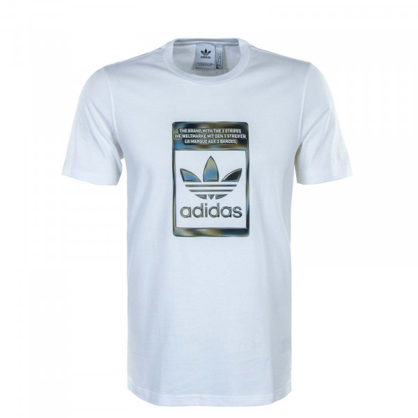 Herren T-Shirt - Camouflage Infill - White