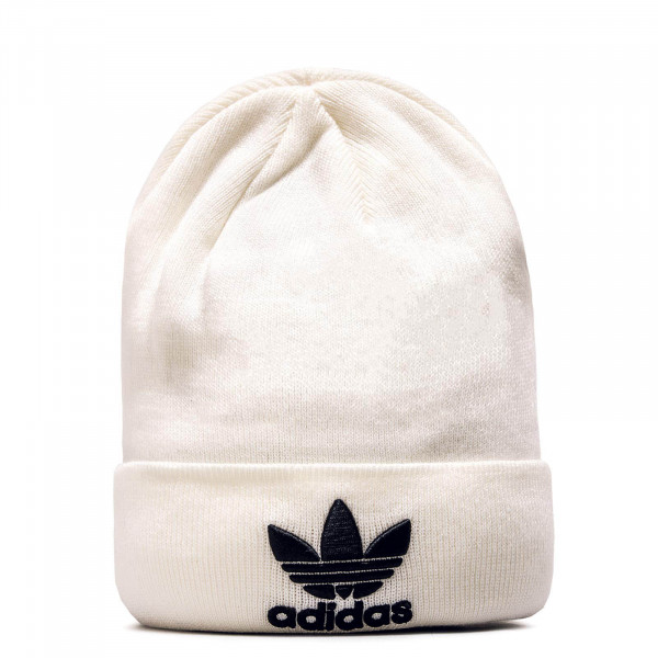 Adidas Beanie Trefoil White Black