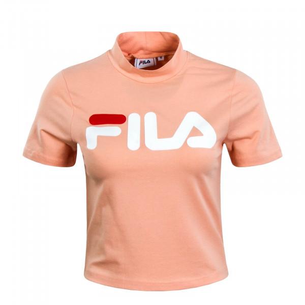 Damen T-Shirt Crop Every Turtle Peach