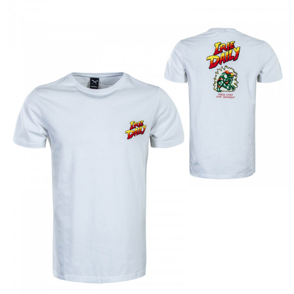 Herren T-Shirt Iriefighter White
