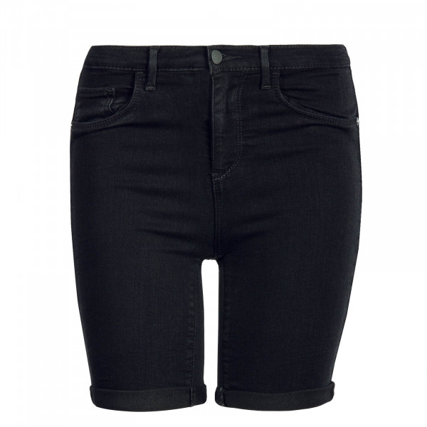 Damen Short Rain Mid Long Black
