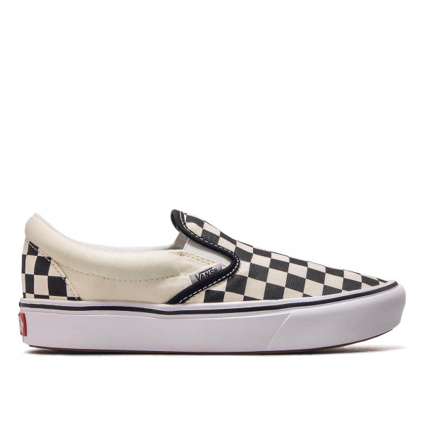 ComfyCush SlipOn Checkerboerd White Black