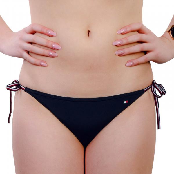 Damen Bikini Slip Side Tie 1468 Navy
