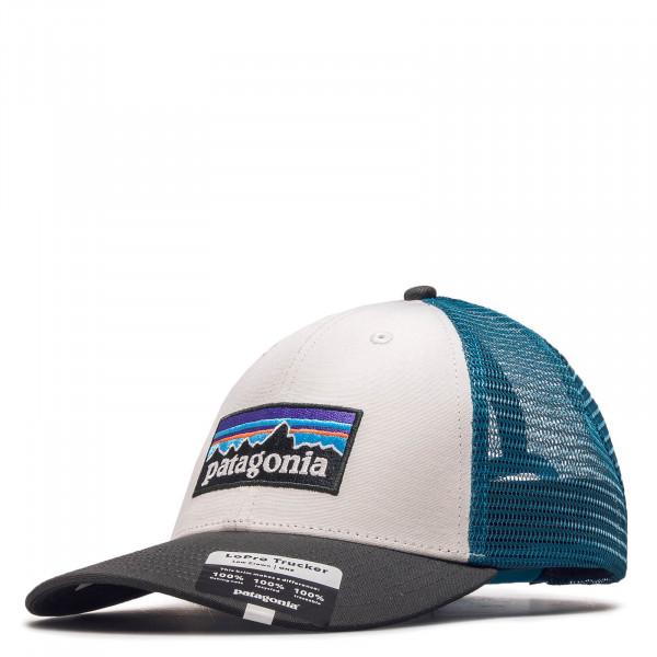 Cap Logo Lo Pro White Grey Blue