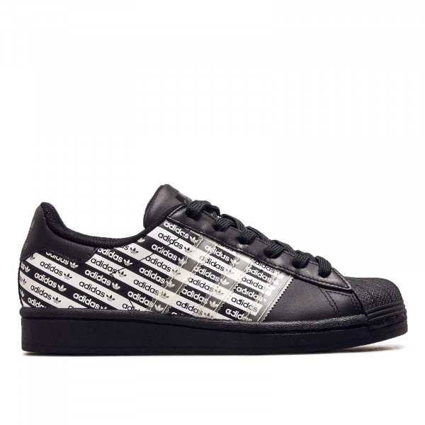 Damen Sneaker Superstar J Core Black White