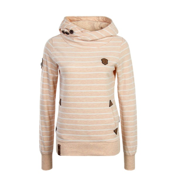 Naketano Wmn Hoody Blauer Sack Orange