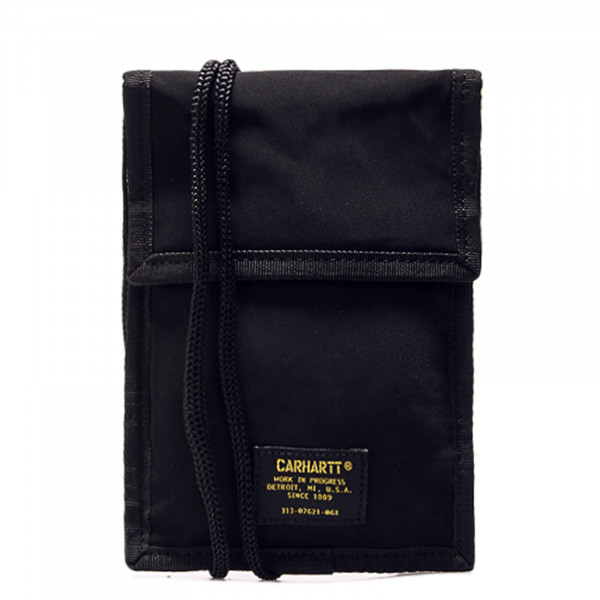 Neck Pouch Military Black