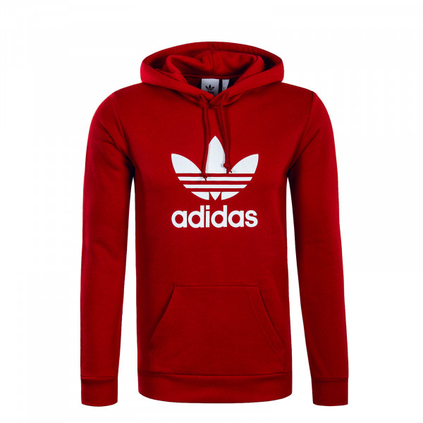 Hoody Trefoil Red White