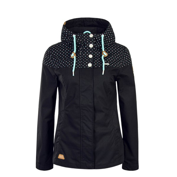 Ragwear Wmn Jkt Lynx Block Black Point
