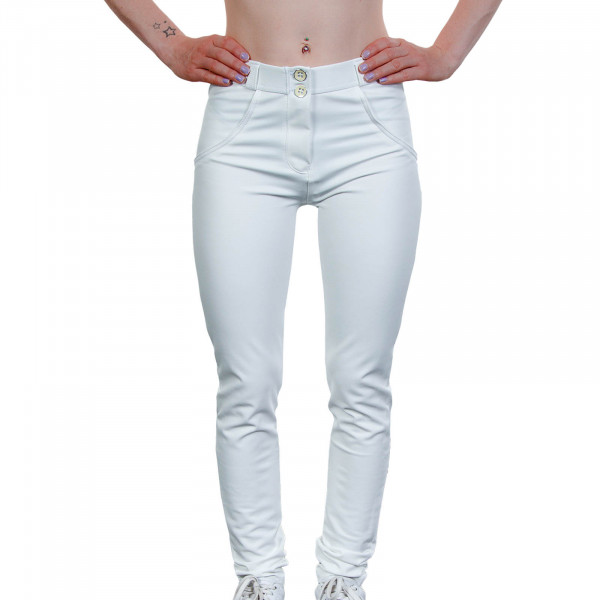 Damen Hose WR.UP® 1 RC006 W0 White - Regular Waist Skinny